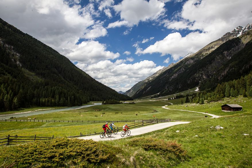 E-Biken in der Ferienregion Nationalpark Hohe Tauern - Salzburger Land