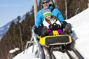 Tobogganing in the Zillertal Arena