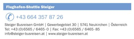 Airport Shuttle Steiger