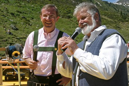 The alpine summer opening ceremony at the Nationalpark Hohe Tauern