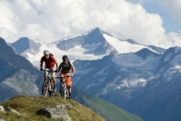 Biker in der Ferienregion Nationalpark Hohe Tauern