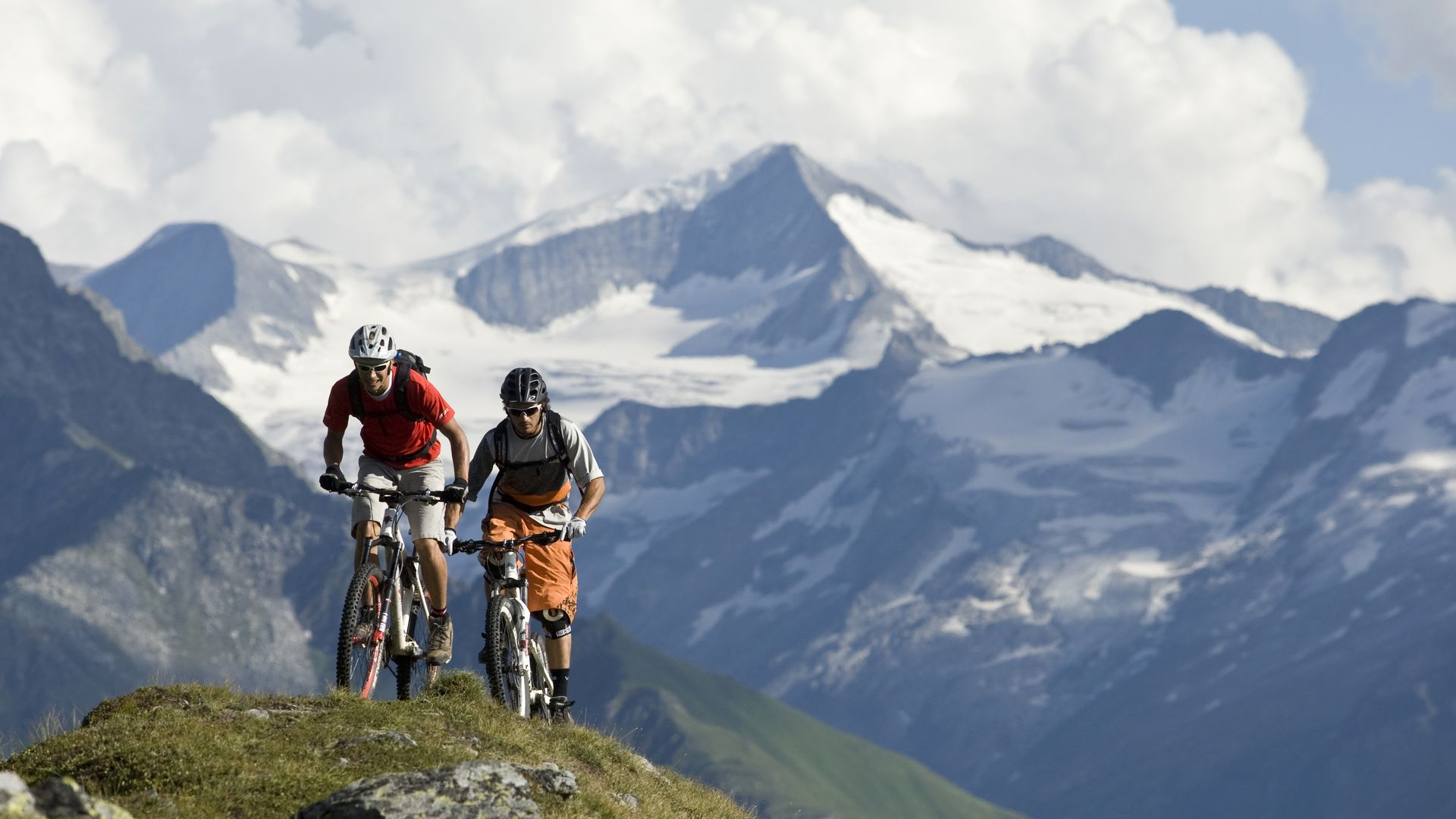 Mountainbike in der Ferienregion