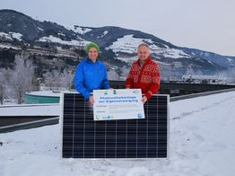 Photovoltaikanlage auf dem Nationalparkzentrum