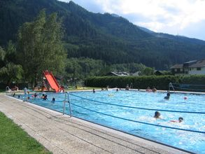 Swimming pool at the Nationalpark Hohe Tauern