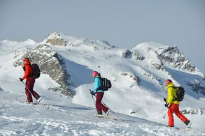 Skitour an Freeride in the mountains