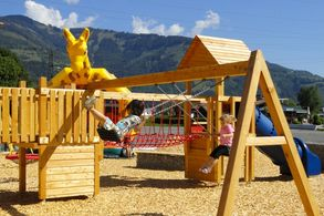 Everything for children at the playground in Zell am See/Kaprun