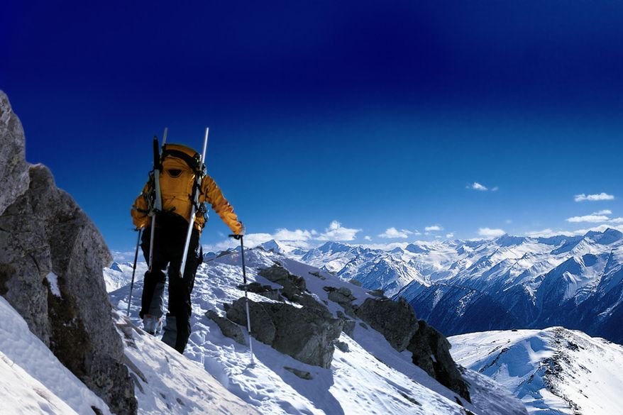 Ski tours in a stunning natural scenery