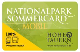 National Park Card broschure